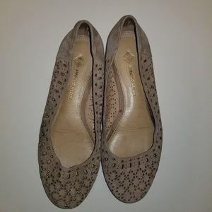 Antonio melani tan slip on shoes